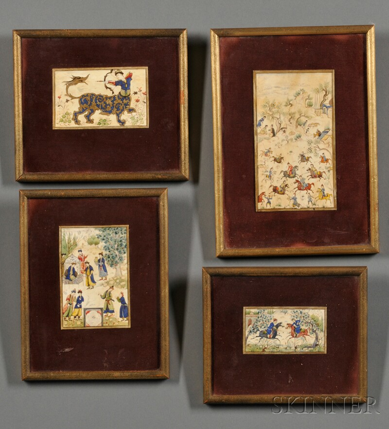 Four Persian Miniatures