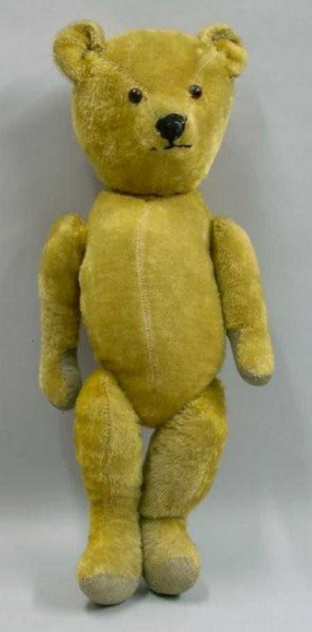 Large American Golden Plush Teddy Bear