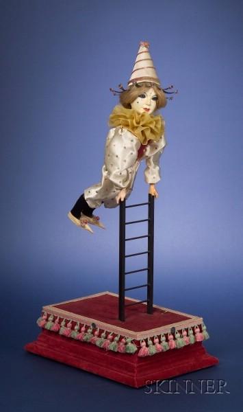 Acrobat on Ladder Automaton by Michel Marcu