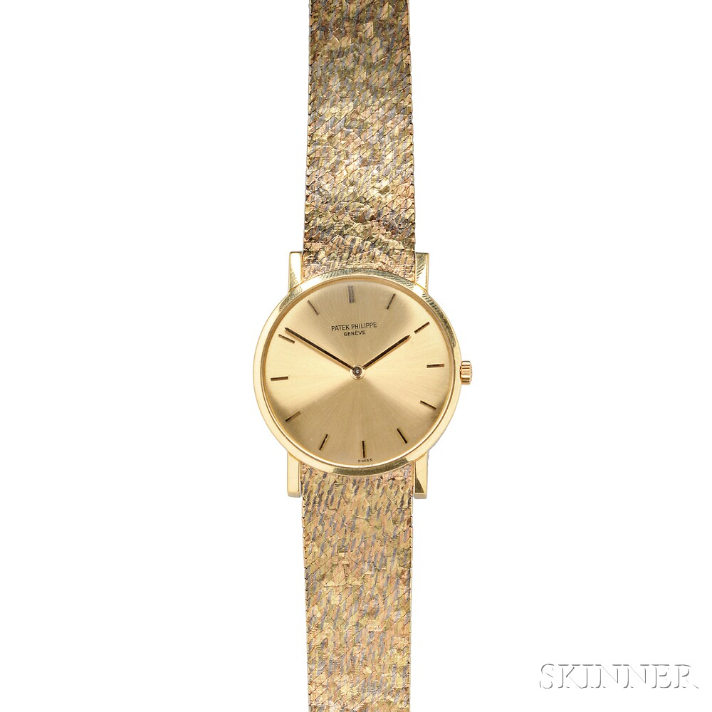 Gentleman's 18kt Gold Wristwatch, Patek Philippe