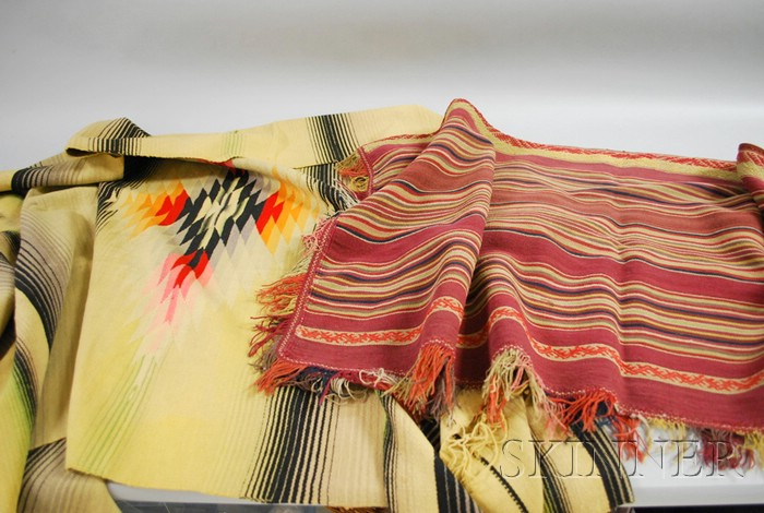 Mexican and Peruvian Poncho and Weaving.