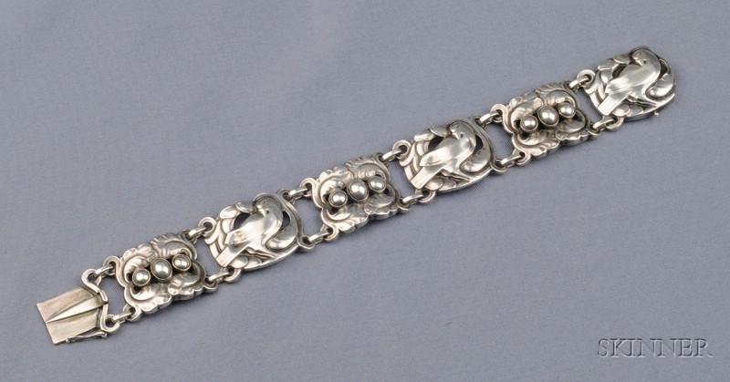 Silver Bracelet, Georg Jensen