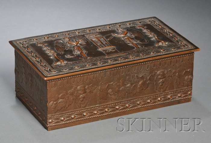 Decorated Box Attributed to John G. Doebler