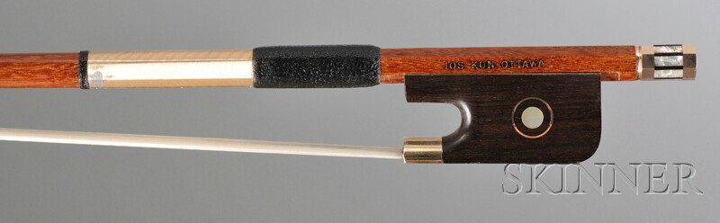 Gold-mounted Viola Bow, Joseph Kun