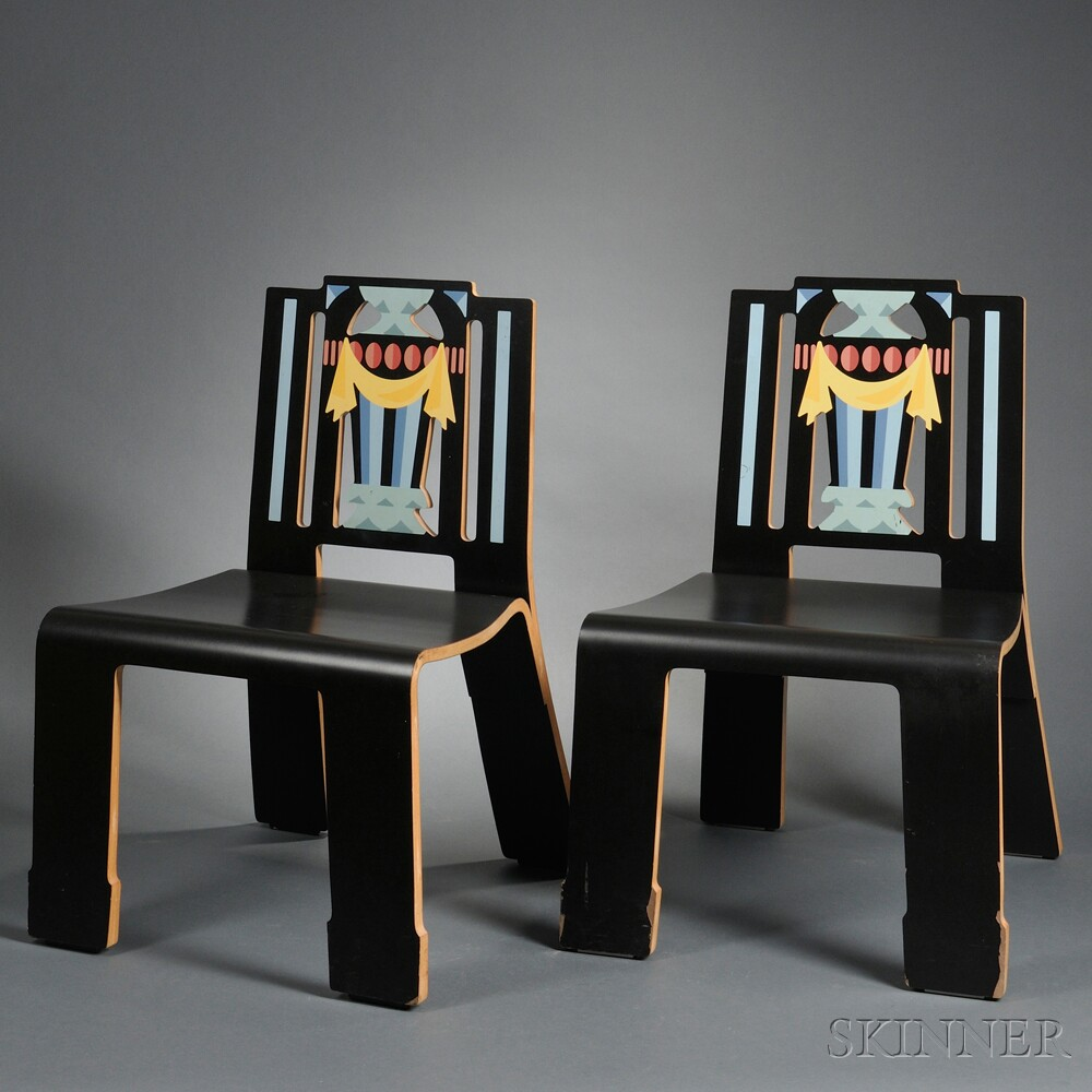 Four Robert Venturi Sheraton Chairs & Four Robert Venturi Sheraton Chairs | Sale Number 2692B Lot Number ...