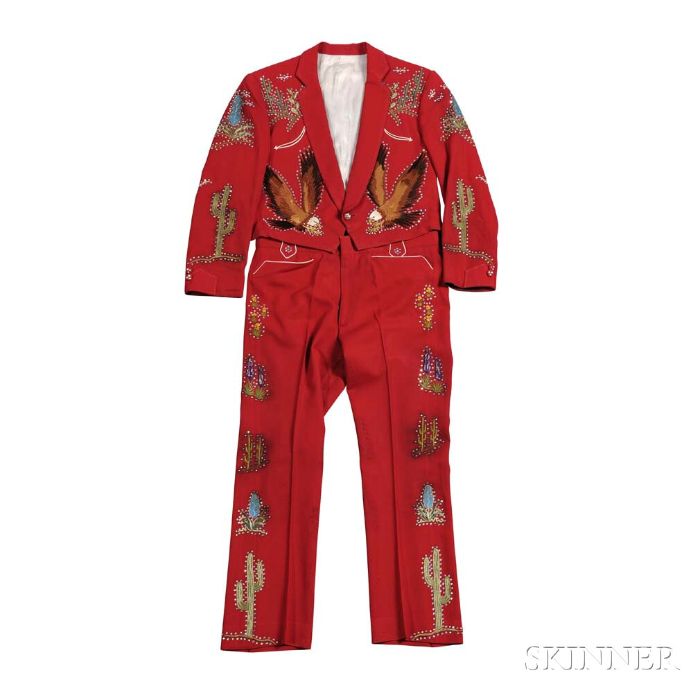 Little Jimmy Dickens     Red Suit