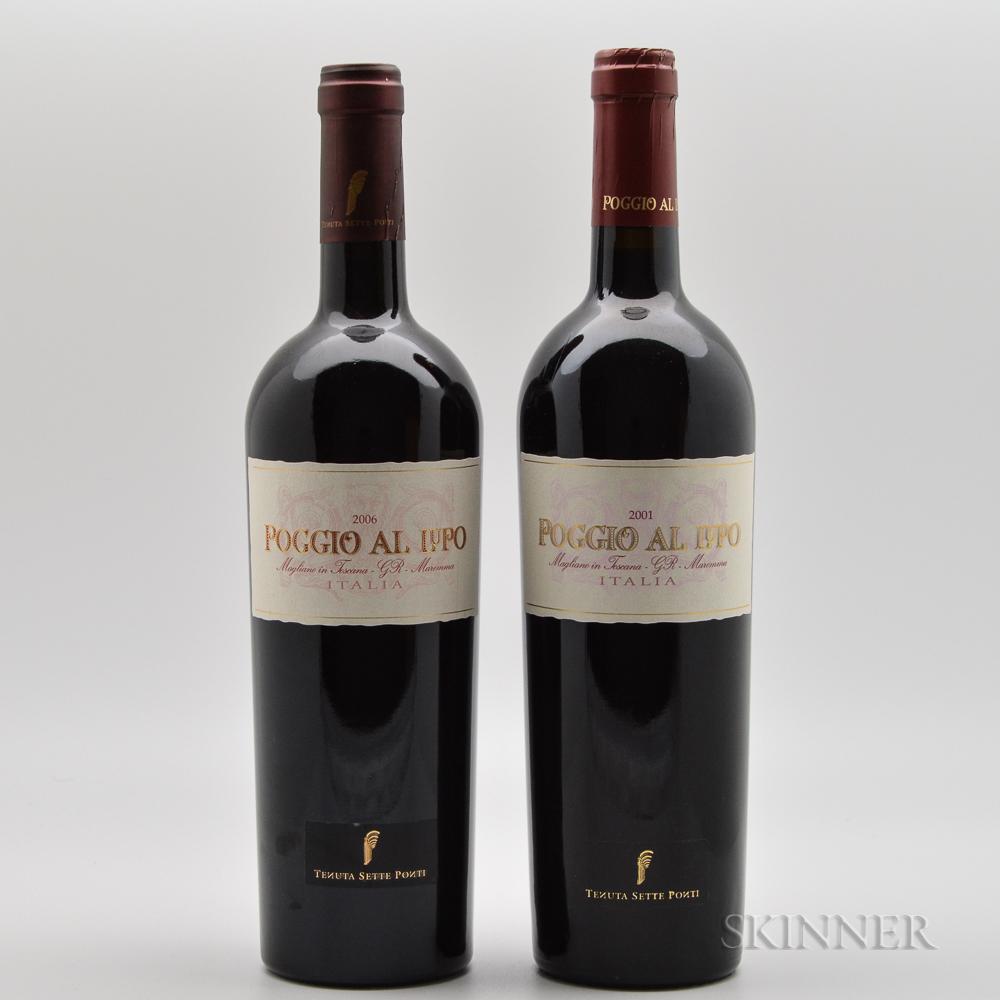 Sette Ponti Poggio Al Lupo, 2 bottles