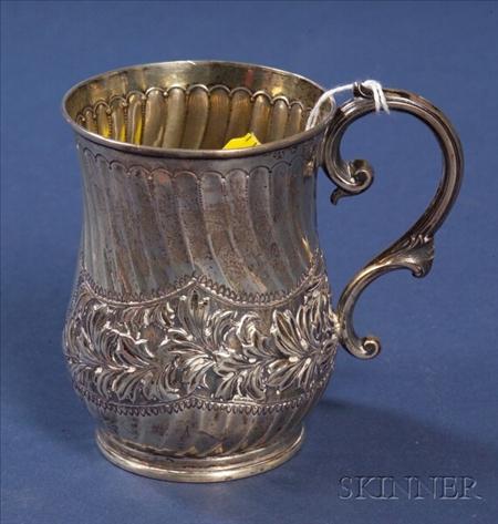 Victorian Silver Mug
