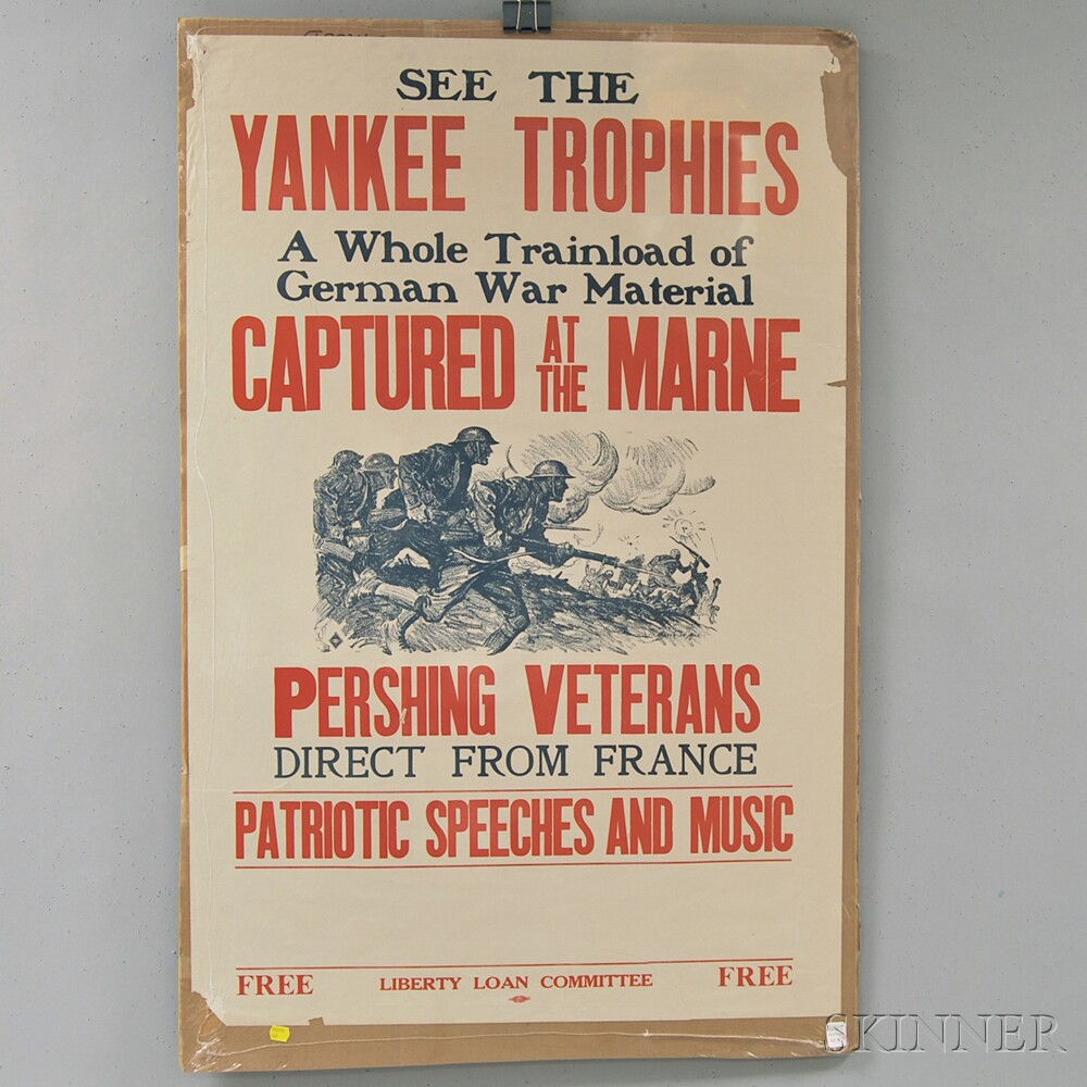 Twelve U.S. WWI Lithograph Posters
