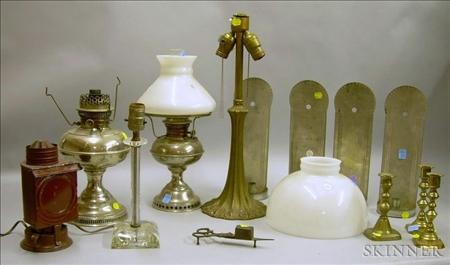 Fourteen Assorted Lighting Articles