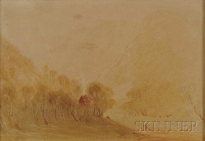 Manner of Joseph Mallord William Turner (British, 1775-1851)      A Hazy Morning