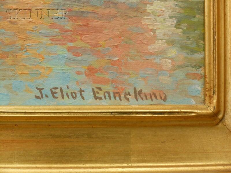 Joseph Eliot Enneking (American, 1881-1942)      In the Morning Light