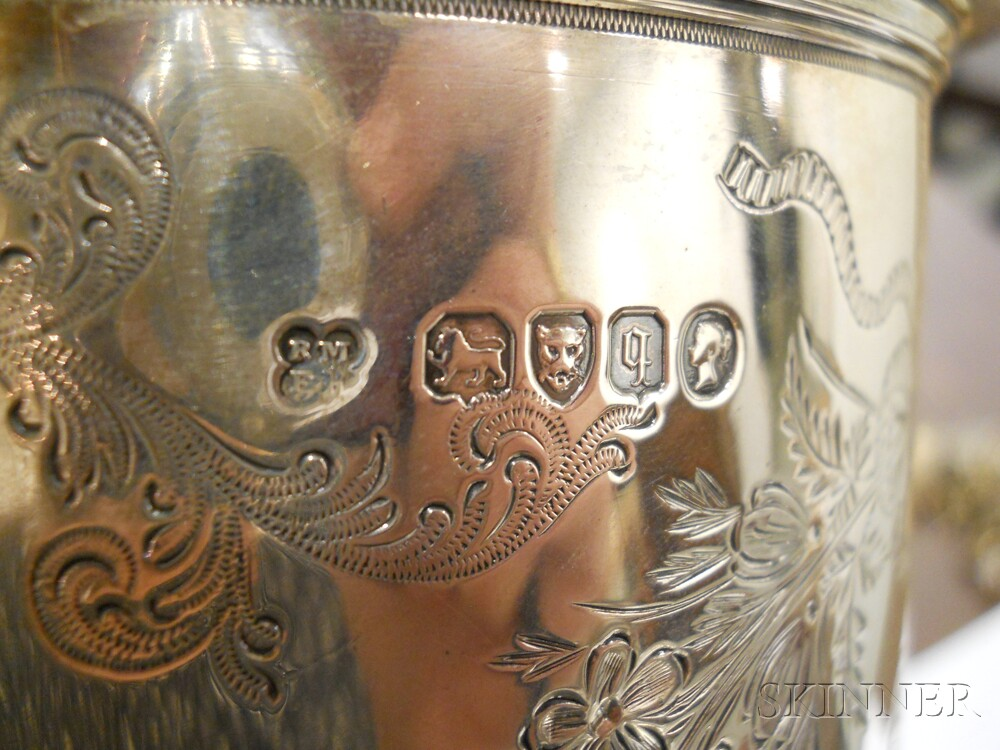 Victorian Sterling Silver Flagon