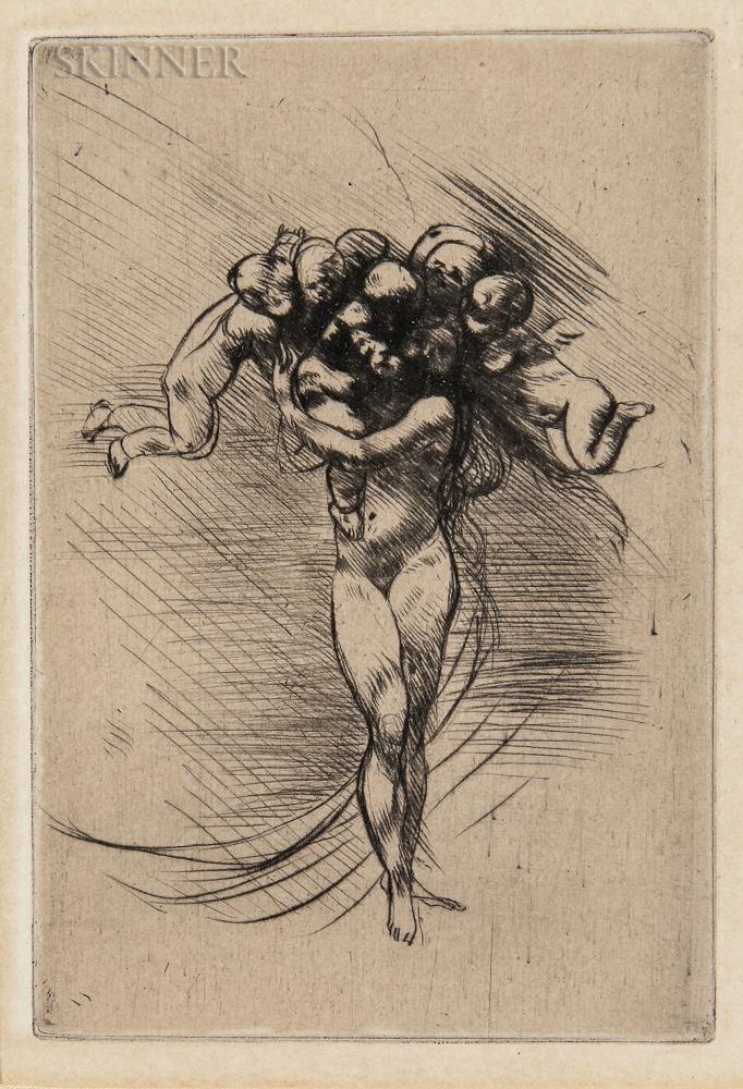 Auguste Rodin (French, 1840-1917)      Le printemps