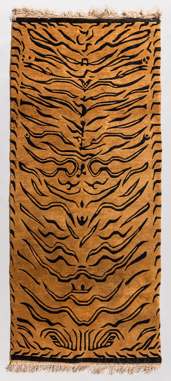 Modern Tibetan Tiger Rug