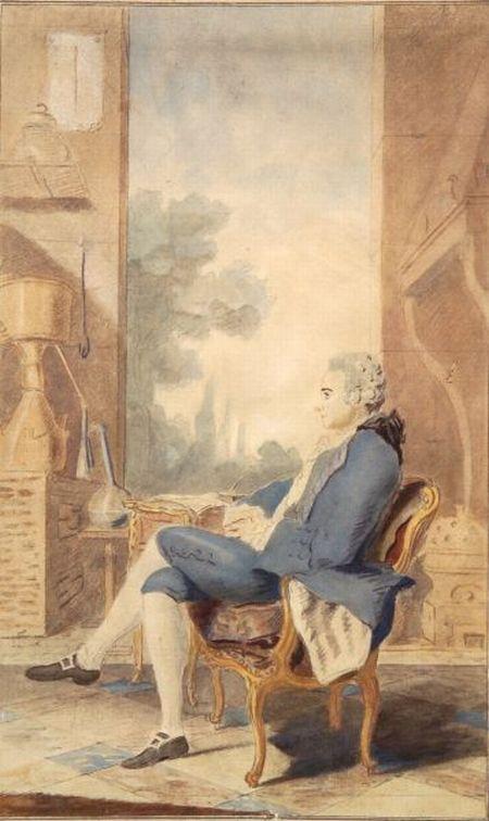 Carmontelle (Louis Carrogis) (French, 1717-1806)    Portrait of a Vintner