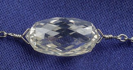 Platinum and Diamond Necklet