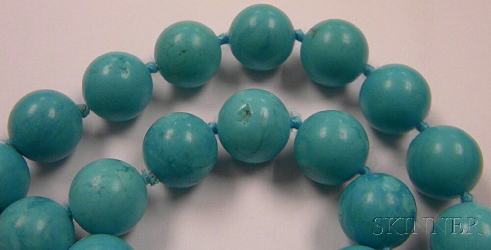 Strand of Turquoise Beads
