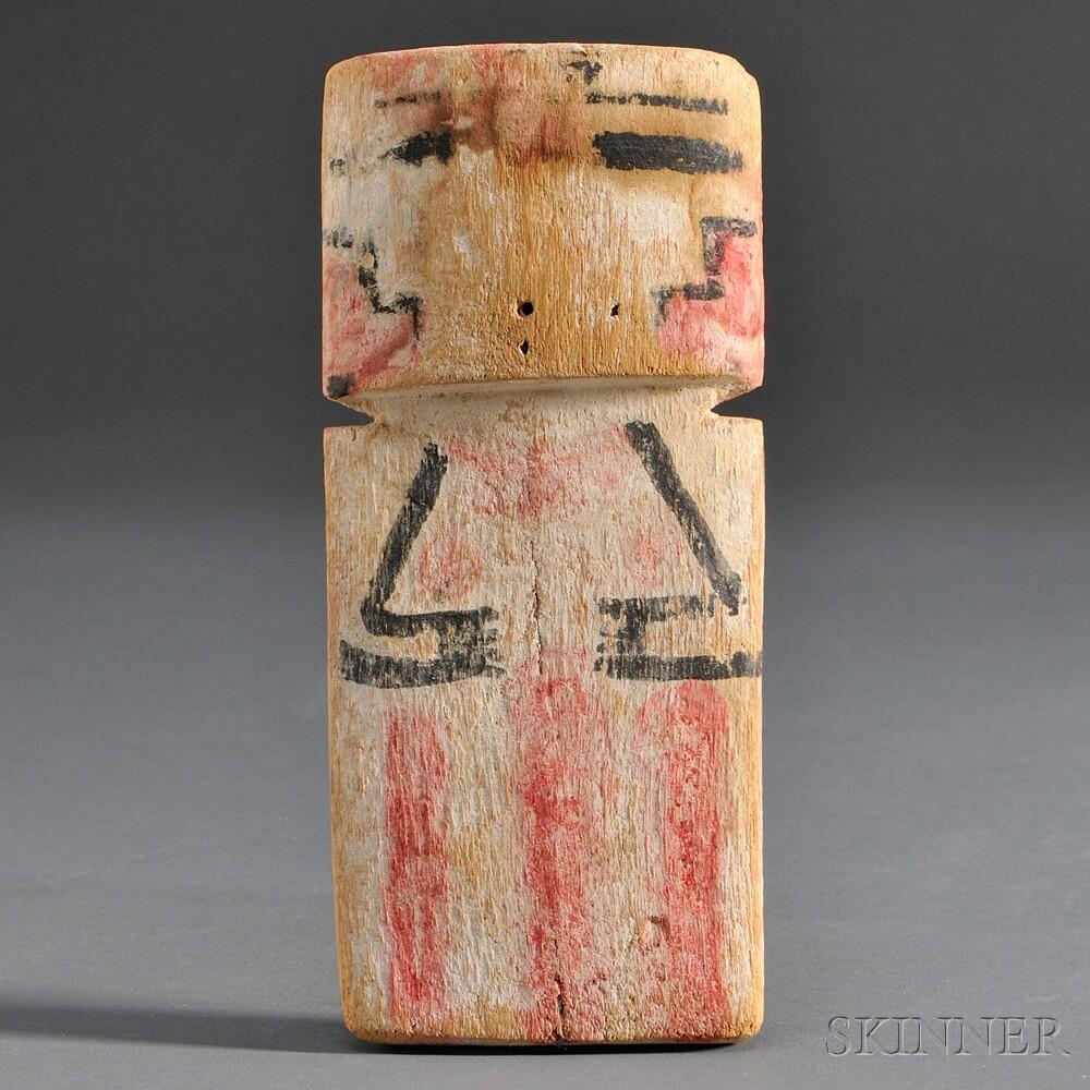 Hopi Carved Wood Cradle Kachina