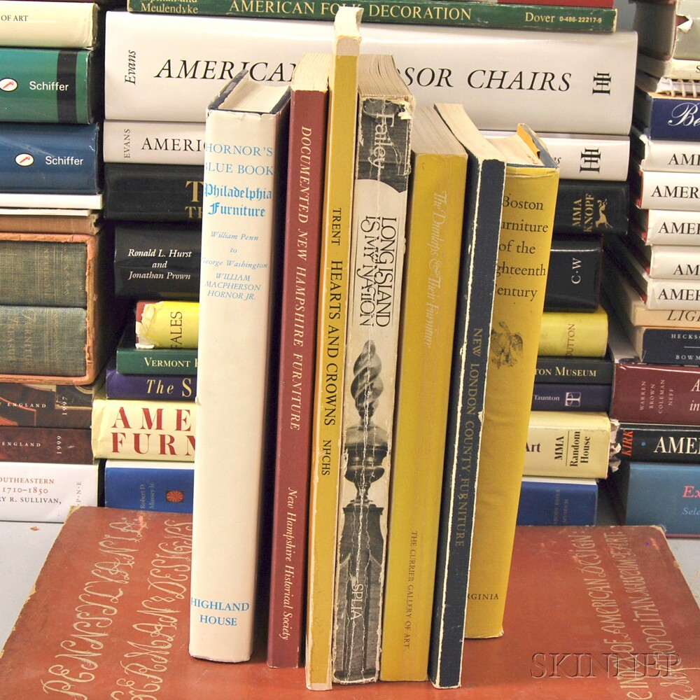 Collection of American Furniture and Decorative Arts Reference Books