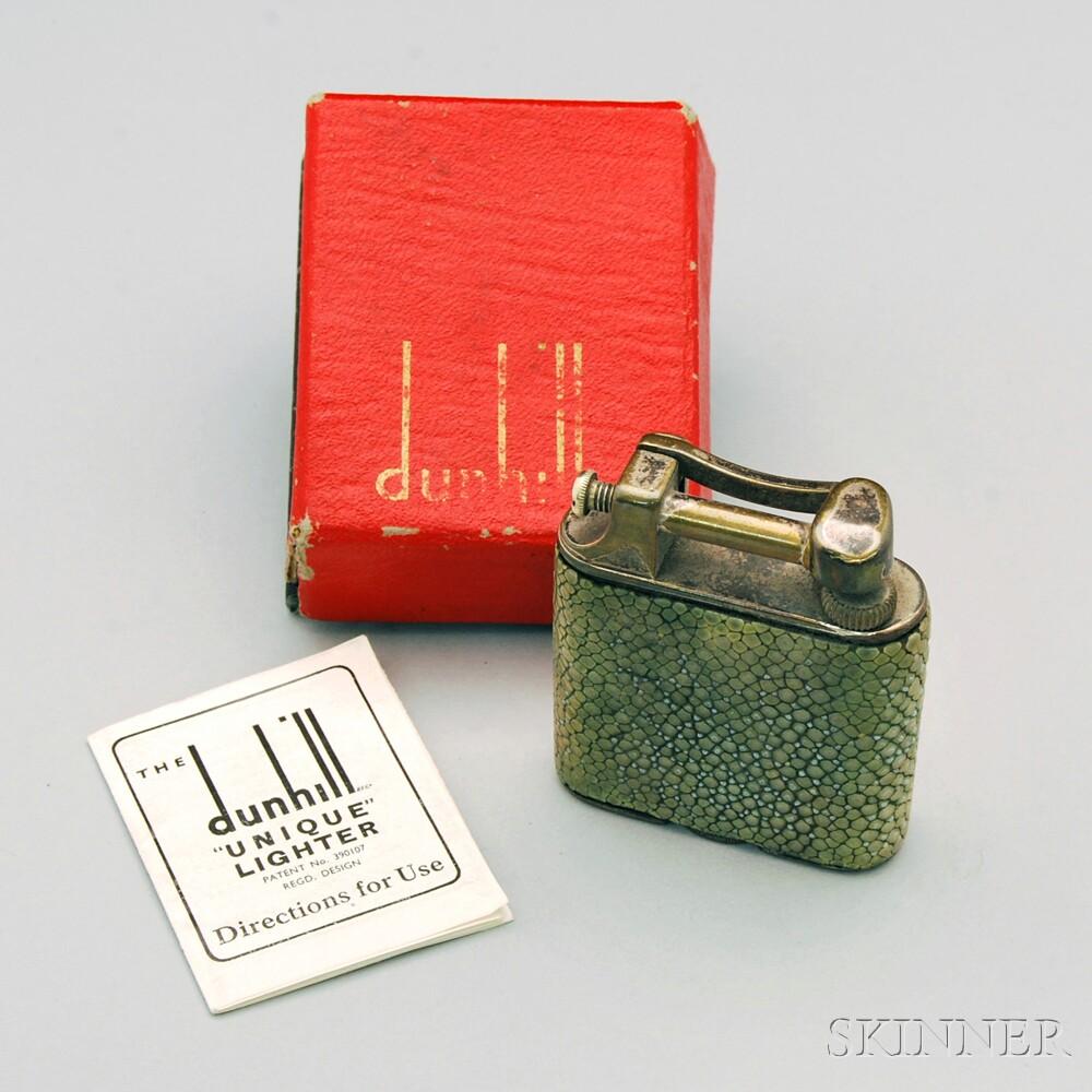 Dunhill Shagreen Lighter