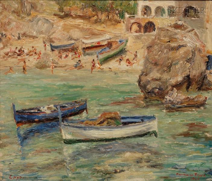 Francesco Filosa (Italian, 1910-1990)      Capri