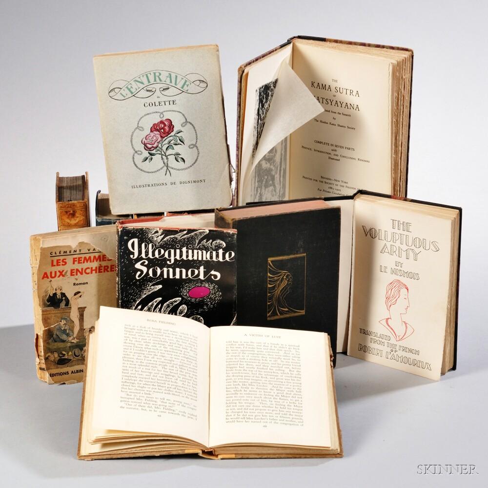 Erotica, Fourteen Volumes.