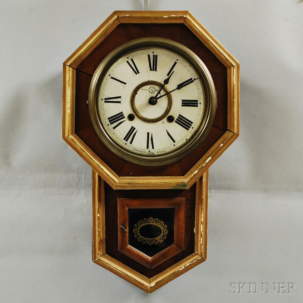 Seikosha Wall Clock Sale Number 2910m Lot Number 127
