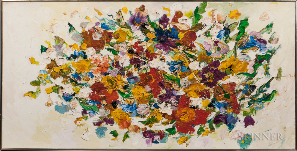Helen Covensky (Polish/American, 1925-2007)      Flowers