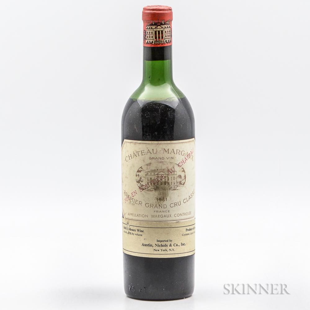 Chateau Margaux 1961, 1 bottle