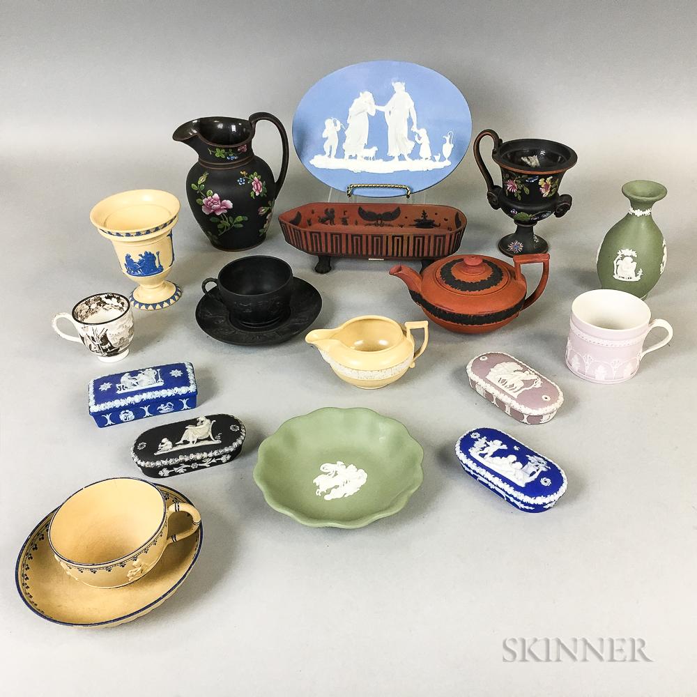 Nineteen Wedgwood Ceramic Items