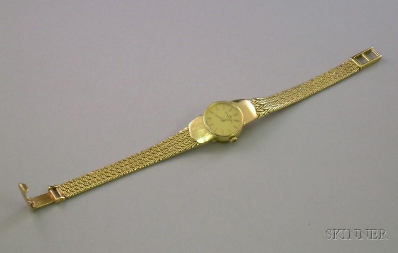 14kt Gold Baum & Mercier Lady's Wristwatch