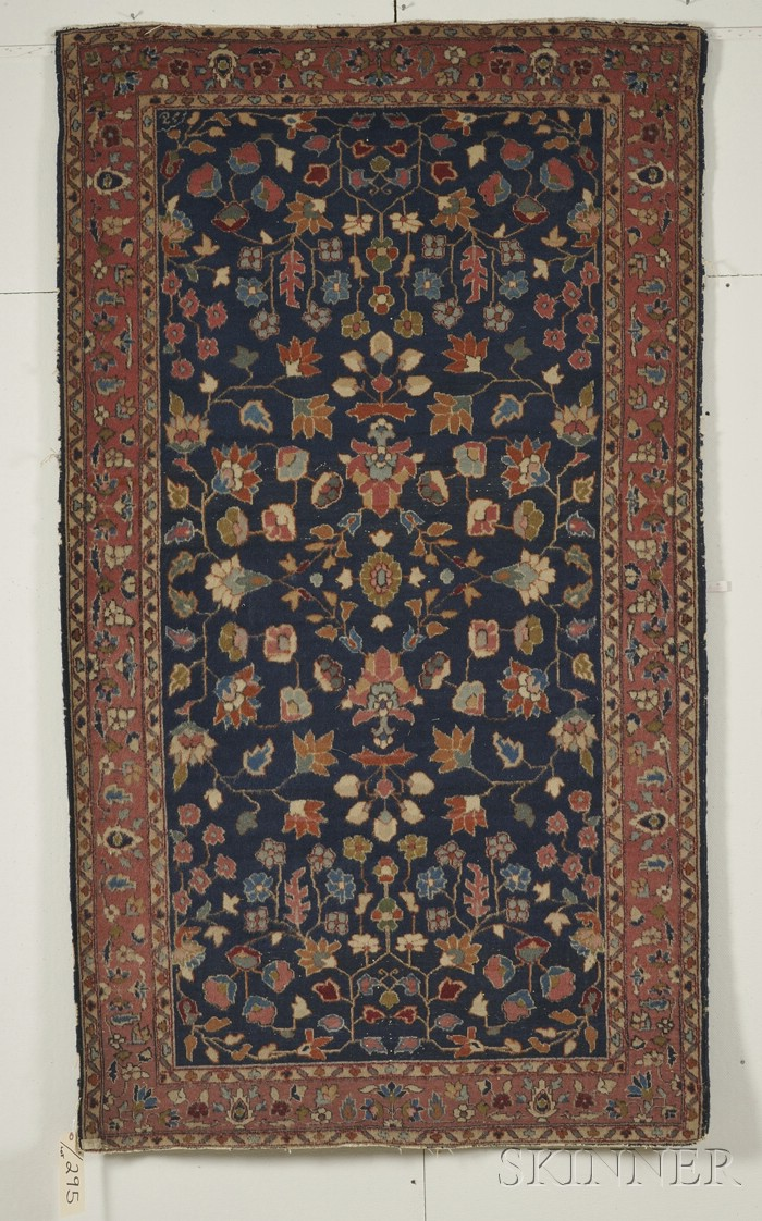 Double-sided Pile Oriental Rug