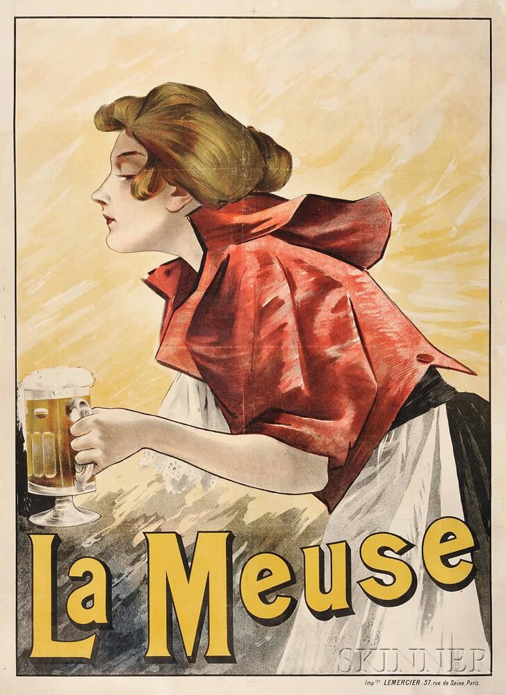 Attributed to Ludwig (Ludek) Marold (Czech, 1865-1898)      La Meuse