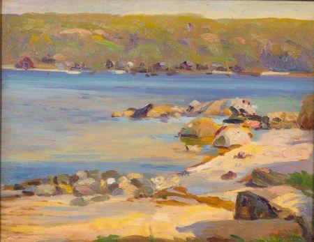 Joseph Newman (American, 1890-1979)    Summer, Cold Spring Harbor