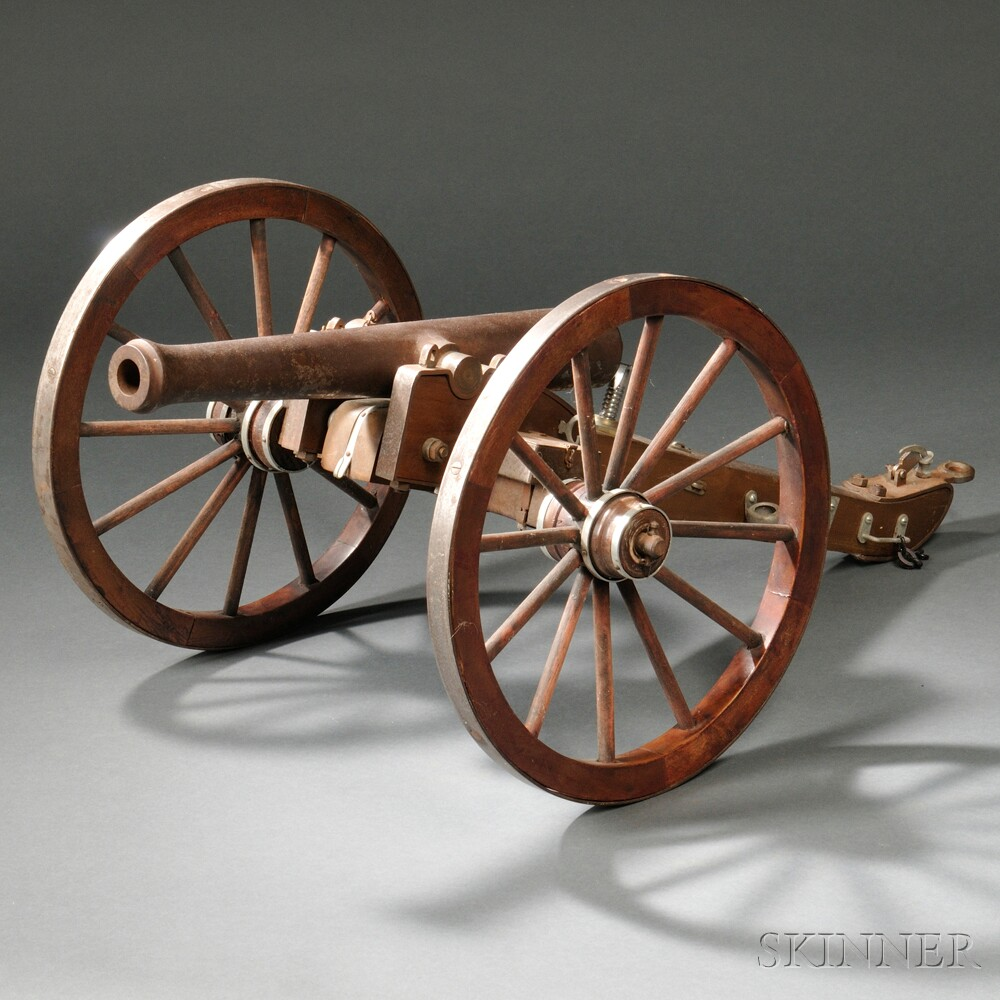 Napoleon-style Cannon Model