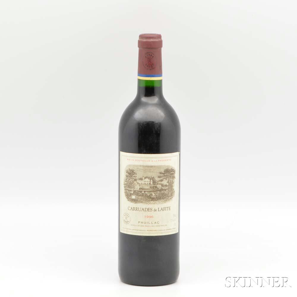 Carruades de Lafite 1996, 1 bottle