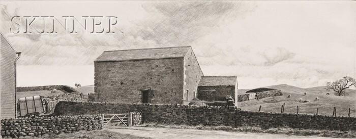 Altoon Sultan (American, b. 1948)      Sheep Farm, Yorkshire, England