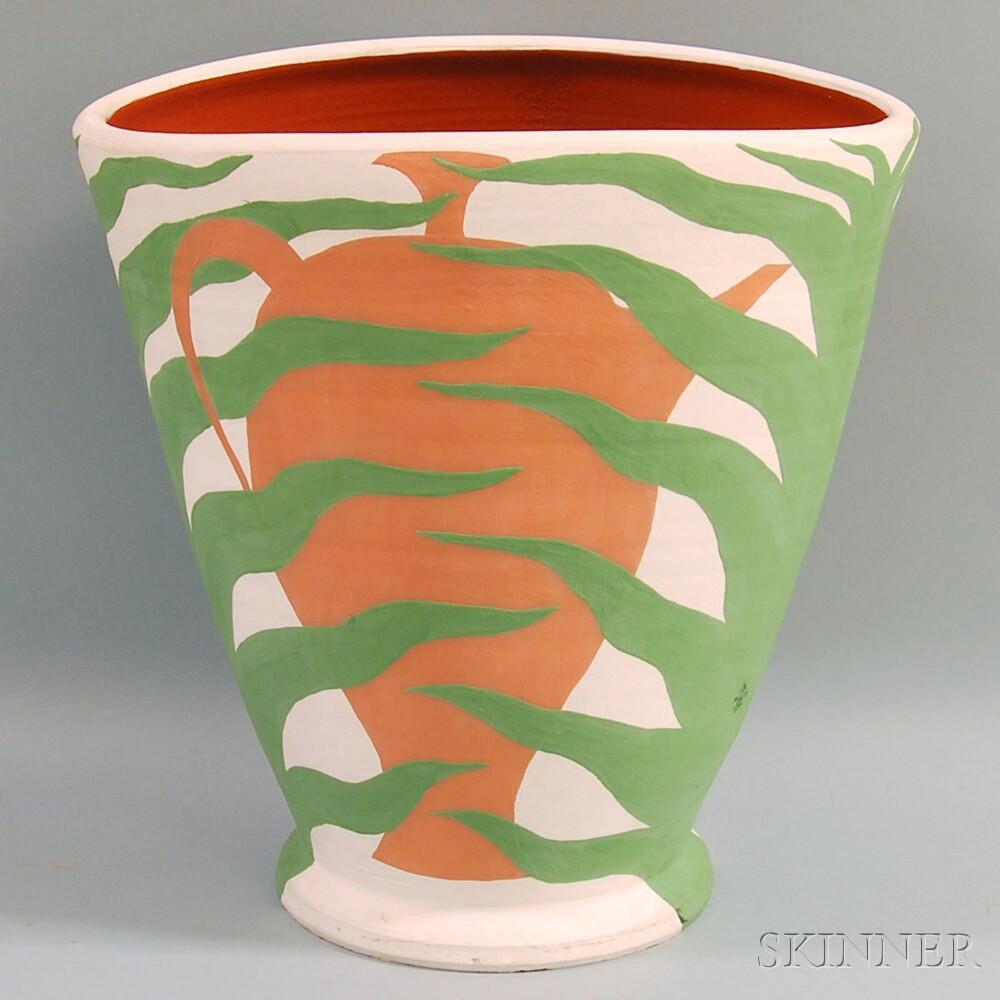 Large David Williamson Ceramic Cache Pot