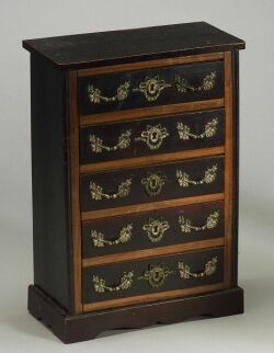 Doll-Sized French Louis XVI Style Tall Chest