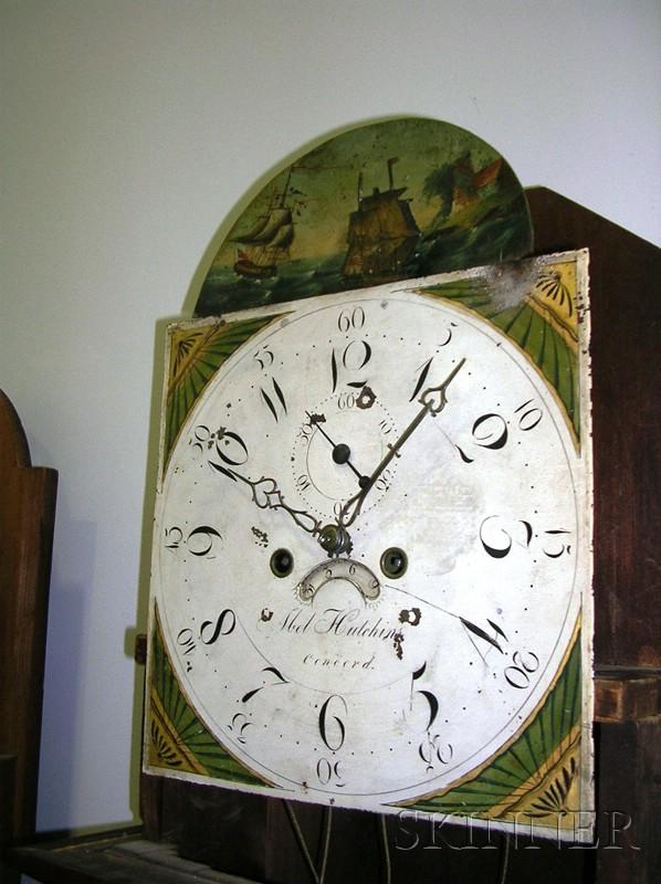Mahogany Inlaid Tall Clock
