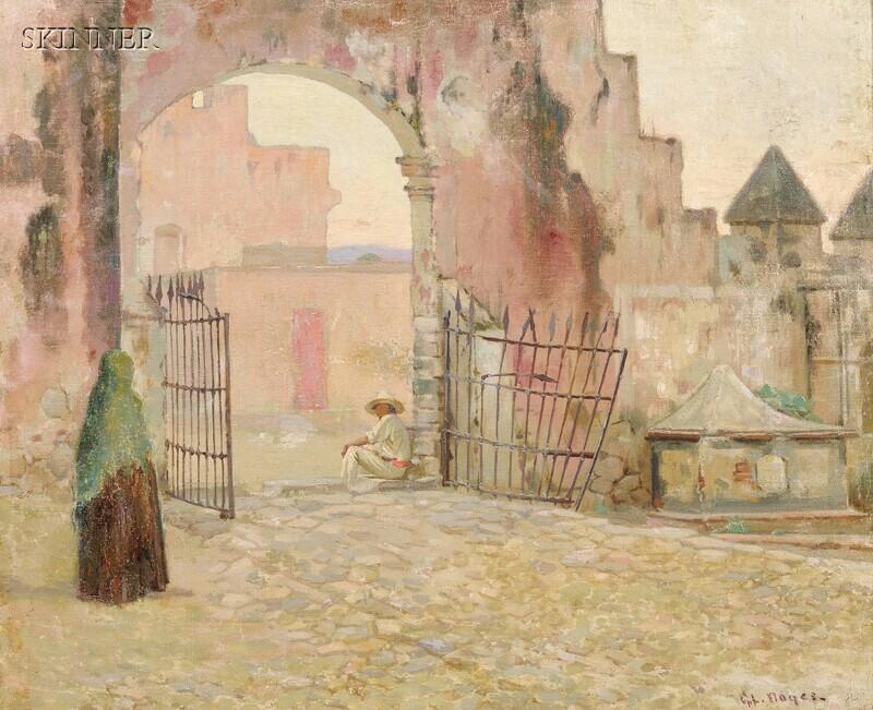 George Loftus Noyes (American, 1864-1954)      Cuernavaca Gateway