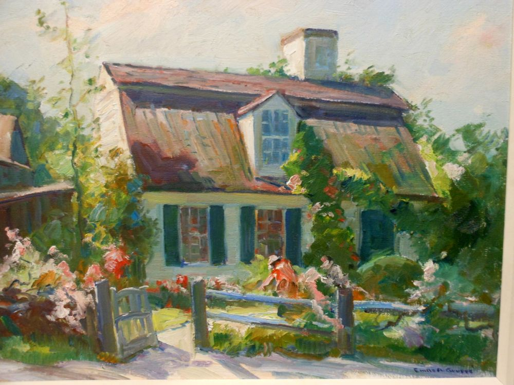Emile Albert Gruppé (American, 1896-1978)      New England Cottage