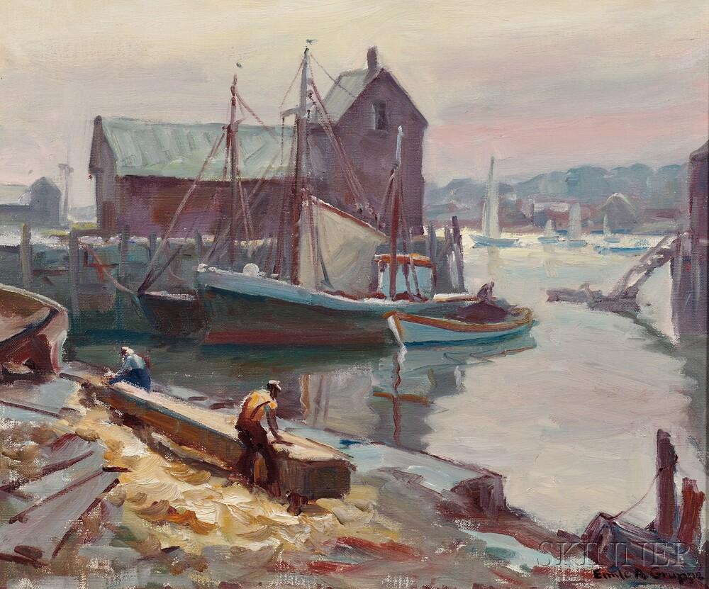 Emile Albert Gruppé (American, 1896-1978)        Motif #1 (Rockport)