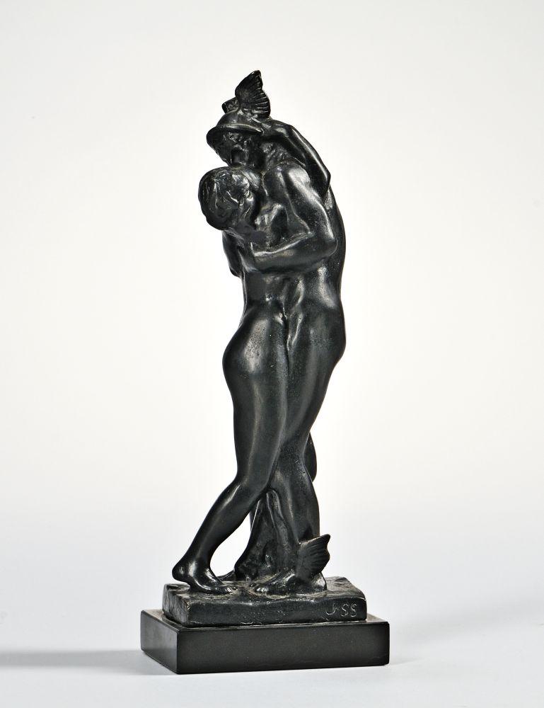John Singer Sargent (American, 1856-1925)      Mercury Embracing Venus