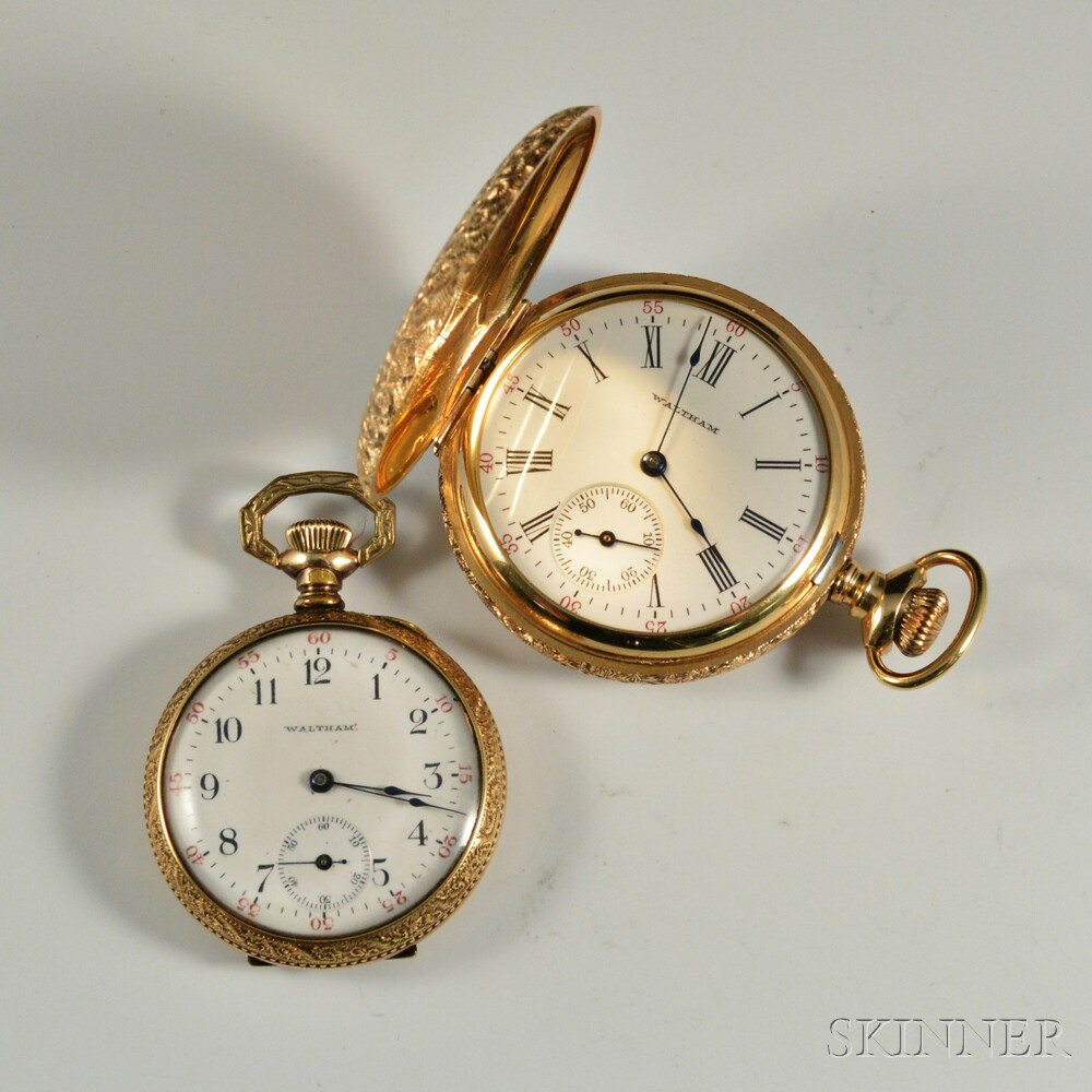 Two Waltham Lady's Pocket Watches