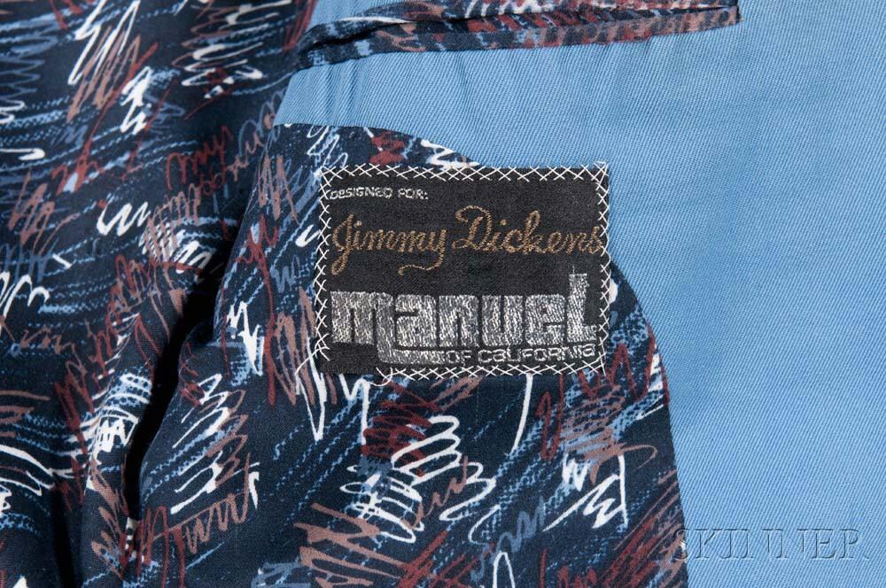 Little Jimmy Dickens     Light Blue Suit
