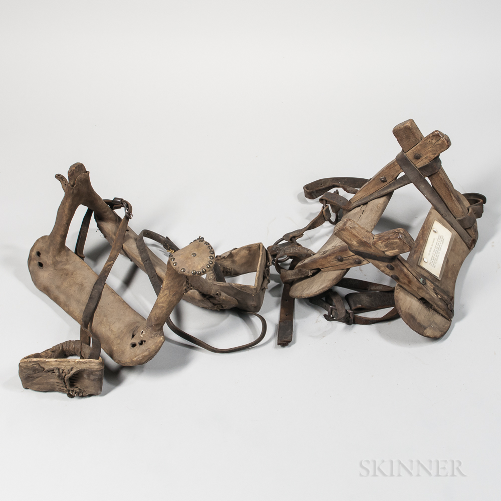 Plains Rawhide Covered Saddle and Western Pack Saddle