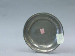 Frederick Bassett Pewter Plate.