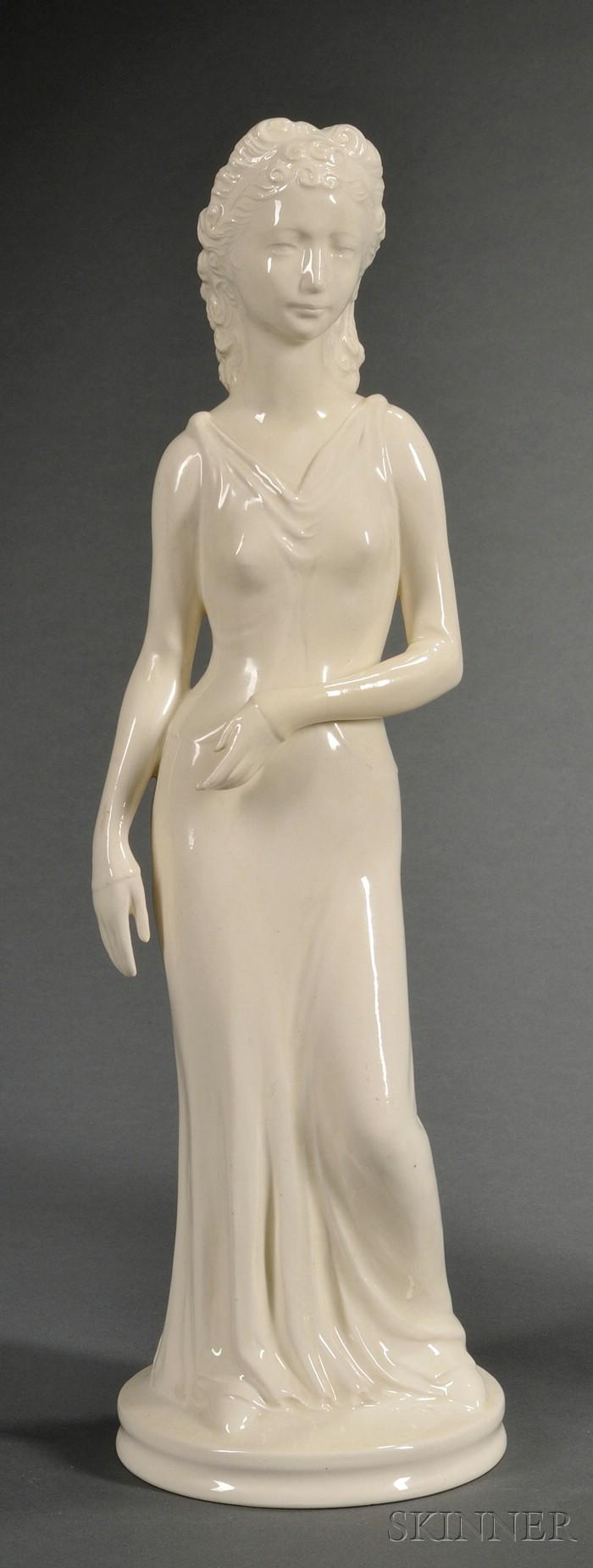 Wedgwood Queen's Ware Figure of Helen